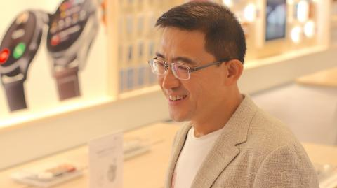 Fred Wang, responsable de Huawei Consumo en España.