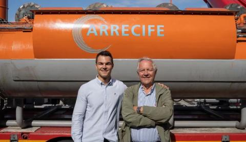 Iñigo Doria (i) y José Javier Doria (d), CEO y CTO de Arrecife Systems