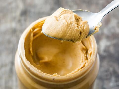 Mantequilla de cacahuete.
