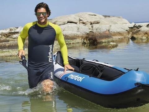Kayak hinchable Mistral.