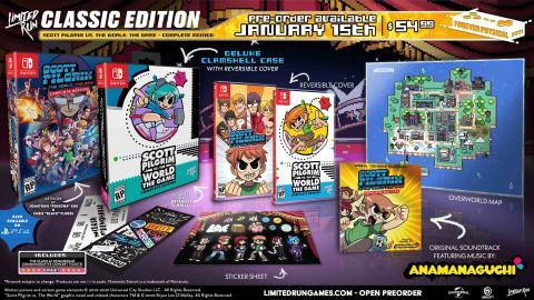 Un ejemplo de las ediciones especiales que suele preparar Limited Run Games.