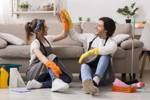 Limpiar casa objetos