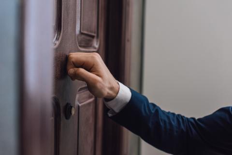 Llamar a la puerta