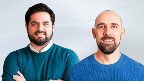 Mario Rene (CEO) y Eduard Pineda (CPO) en Classlife Education.
