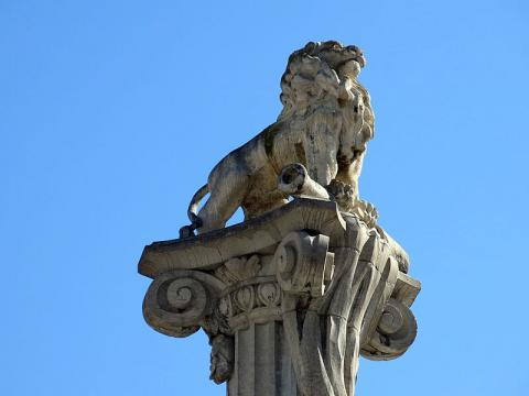 Monument del Lleó, Girona.