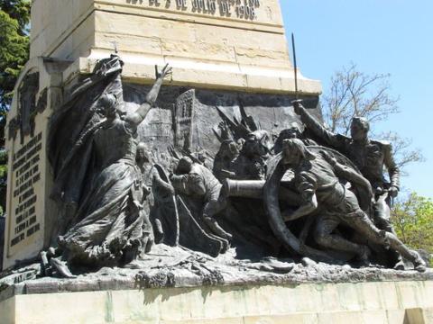 Monumento a los Héroes del 2 de Mayo, Segovia.