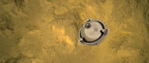 Esta misión se encargará de estudiar el planeta en todo su conjunto, con un descenso vertical hasta la superficie de Venus.