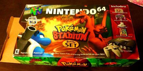 Nintendo 64 Pokemon Stadium
