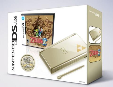Nintendo DS Zelda Gold
