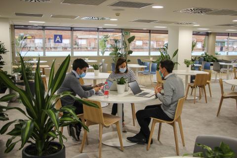 Nuevas oficinas de Danone.