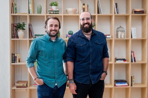 Pablo Bertolín y Andrés Perales, fundadores de Designable.