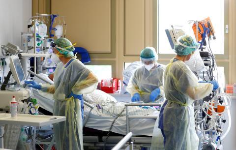 Pacientes de COVID-19