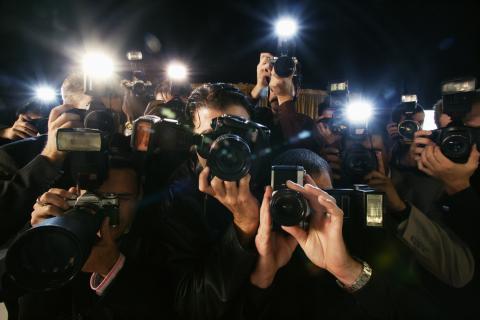 Paparazzi famosos fotos