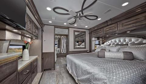 Pareces interiores caravana