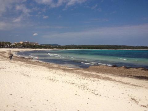 Playa de Sa Coma, Mallorca.