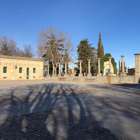 Plaza de la Catedral, Zamora.