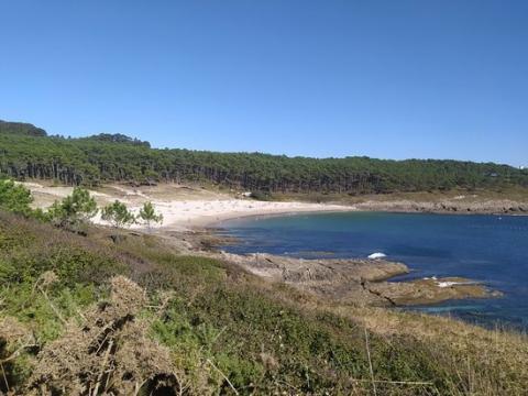 Praia de Melide, Pontevedra.
