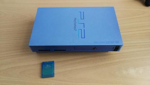 PS2 Aqua Blue