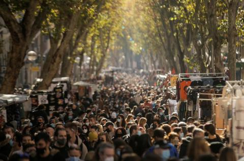 El Rastro, Madrid.