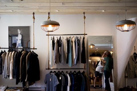 Ropa vestuario tienda