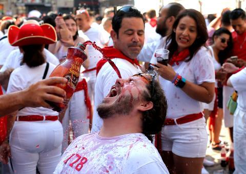 san fermin sangría tinto de verano España