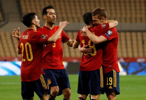 selección fútbol españa eurocopa