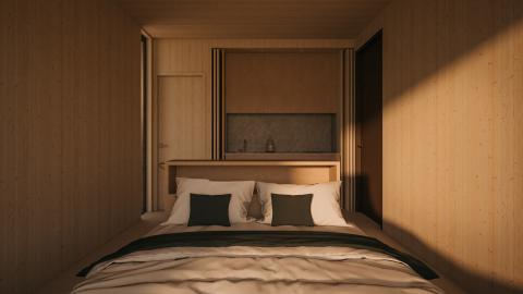Así sería Liten, si se elige la opción de dormitorio.