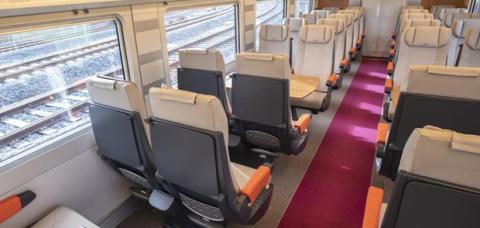 Servicios a bordo de Aavlo, el tren low cost de Renfe.