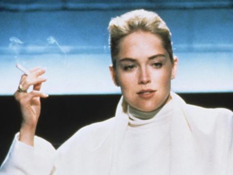 Sharon Stone en 'Instinto Básico'.