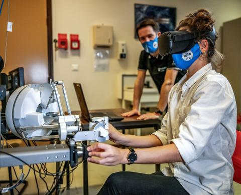 Así es la simulación, a través de realidad virtual, del proyecto Pilote.