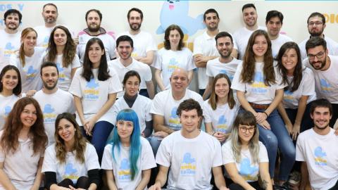 Parte del equipo de Smile and Learn.