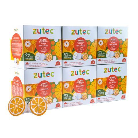 Cápsulas de frutas para hacer zumo, de Zutec.