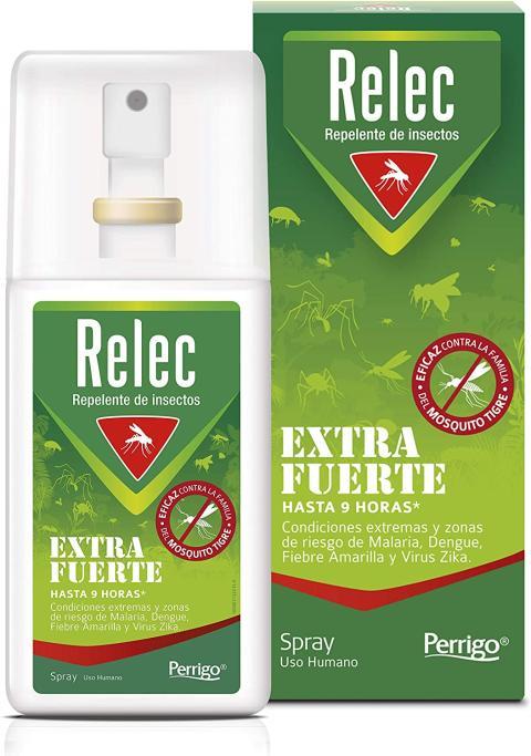 spray antimosquitos Relec Extra Fuerte
