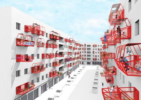 Las terrazas prefabricadas de Luis Quintano.
