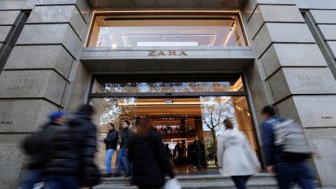 En imagen, tienda Zara.