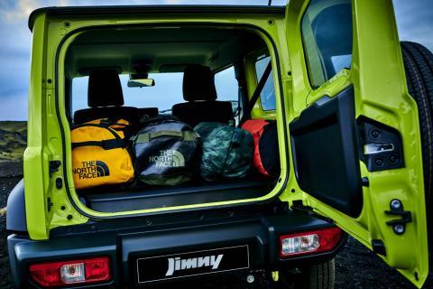 Vuelta Suzuki Jimny maletero