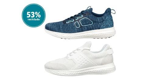 Zapatillas de deporte para mujer Ocean Bound Plastic.