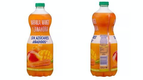 Zumos de naranja concentrado.