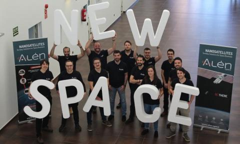 El equipo de Alén Space.