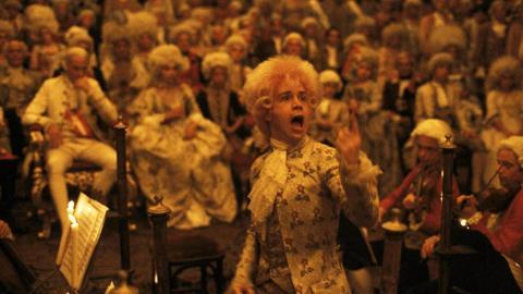 Escena de la película 'Amadeus'.