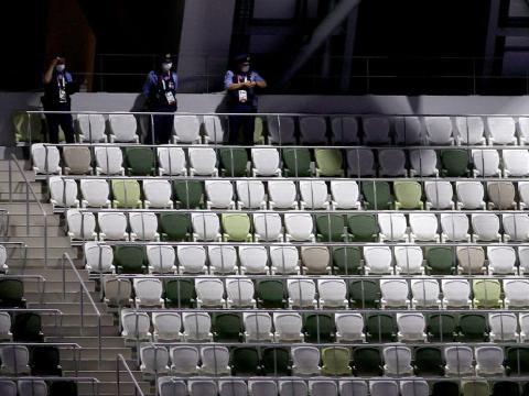 Los estadios quedarán vacíos este año en los Juegos Olímpicos de Tokio.