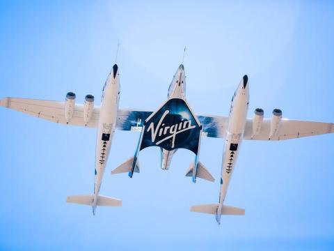 Avion virgin galactic