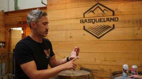 Kevin Patricio, CEO y fundador de Basqueland