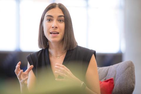 Blanca de Santos, responsable de Finanzas y Operaciones de Clarity.