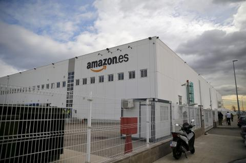 Centro de distribución de Amazon en San Fernando de Henares