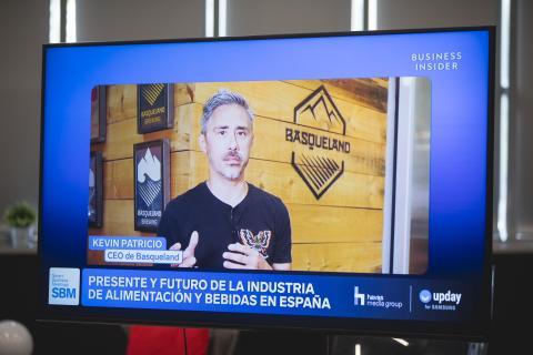 Kevin Patricio, CEO y cofundador de Basqueland.