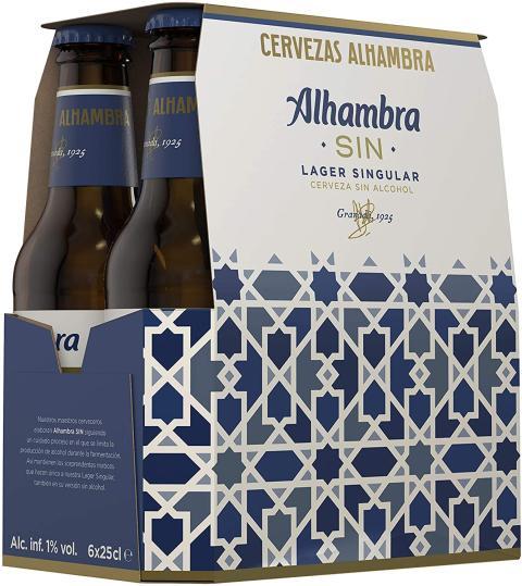 cerveza Alhambra Sin