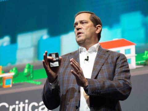 Chuck Robbins, consejero delegado de Cisco WebEx.