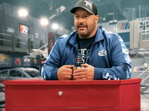 Kevin James en 'En los boxes'.