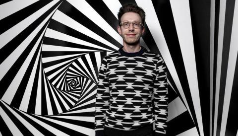Daniel Tammet, genio autista con sinestesia que recientemente publicó el libro de memorias 'Nacido en un día azul'.